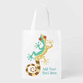 Dizzy Lizards - Custom Reusable Bag