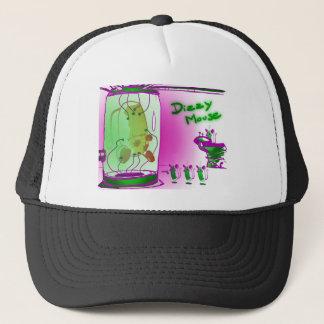 dizzy mouse alien abduction trucker hat