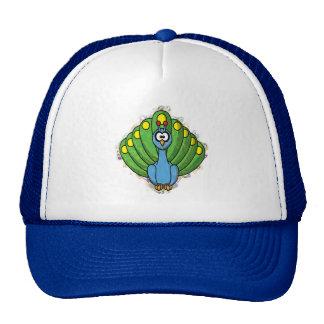 DIZZY PEACOCK HATS