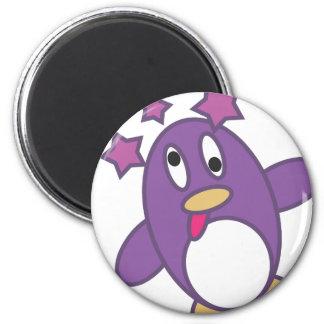 Dizzy Penguin Fridge Magnets