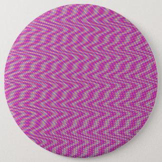 Dizzy Pink Pinback Button
