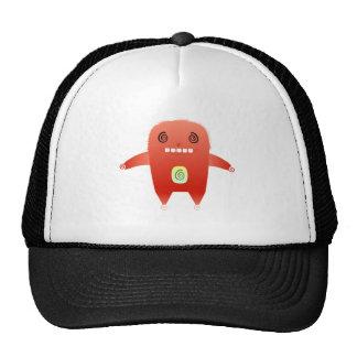 dizzy red rabbit. trucker hat