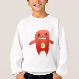 dizzy red rabbit. sweatshirt