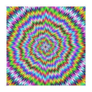 Dizzy Stretched Canvas Print