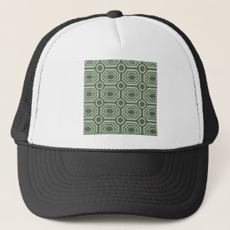 Dizzy Vintage Green Cool Antique Design Styles Trucker Hat