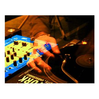DJ 3 POSTCARD