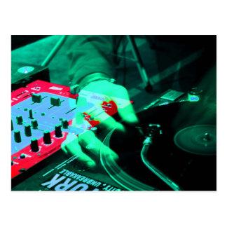 DJ 4 POSTCARD