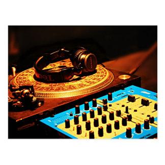 DJ 5 POSTCARD