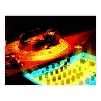 DJ 7 POSTCARD