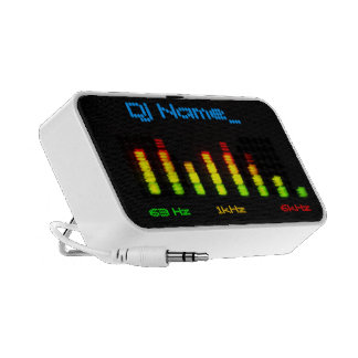 Dj Add Your Name Personal Equalizer Bar EQ iPod Speaker