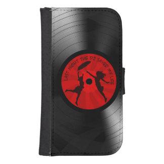 DJ ahorró anoche mi negro del disco de vinilo de Billetera Para Teléfono