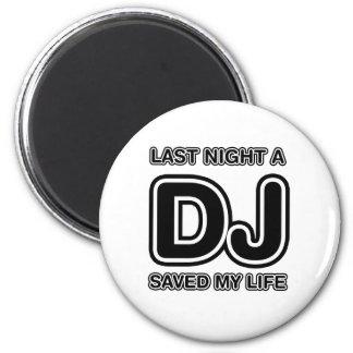 DJ ahorró anoche mi vida - música del disc jockey Iman De Frigorífico