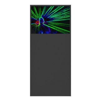 DJ and Laser Lights rack card