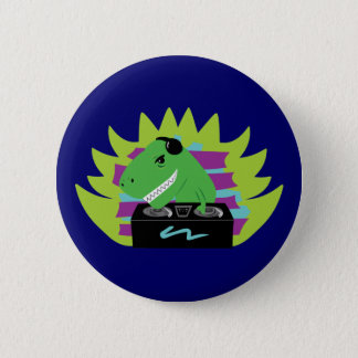 Dj-asaurus Rex Button