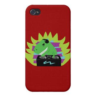 Dj-asaurus Rex Case For iPhone 4