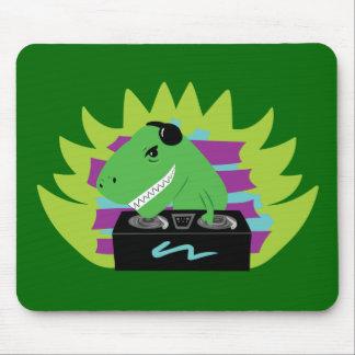 Dj-asaurus Rex Mouse Pad