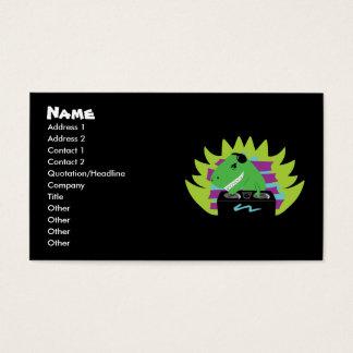 T Rex Business Cards Templates Zazzle
