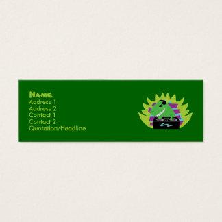 Dj-asaurus Rex T-Rex DJ Profile Cards