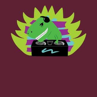 Dj-asaurus Rex T-Shirt shirt