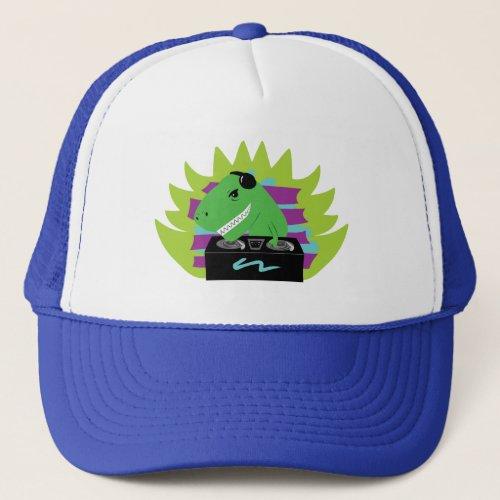 Dj-asaurus Rex Trucker Hat