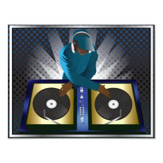 DJ Bachelor Bachelorette Surprise Party Invitation