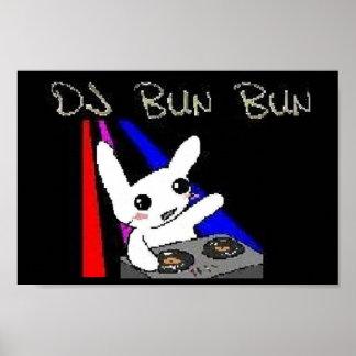 DJ Bun Bun Poster