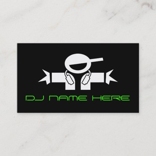 DJ Busines Cards