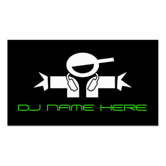 DJ Busines Cards Double-Sided Standard Business Cards (Pack Of 100)