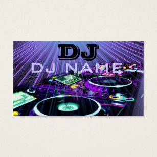 Dj business cards 1400 dj business card templates dj business card accmission Images