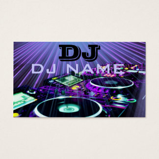 DJ Business Cards DJ Business Card Templates - Dj business card template