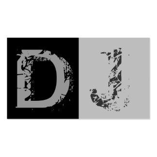 DJ Business Card Standard Business Cards