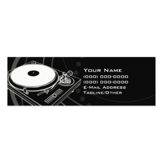 DJ Double-Sided MINI BUSINESS CARDS (Pack OF 20)