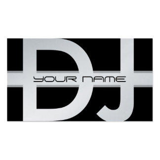 DJ Business Card Pack Of Standard Business Cards