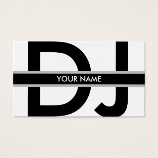 DJ Business Card