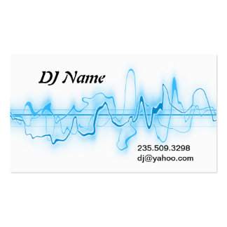 DJ Double-Sided STANDARD BUSINESS CARDS (Pack OF 100)