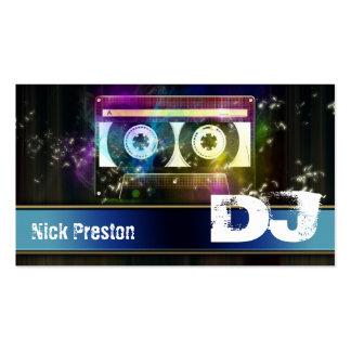 DJ Business Card Disco 80 Old Cassette