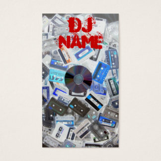 Dj Business Card Tapes vs Cd