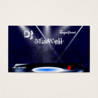 DJ Business Card Template