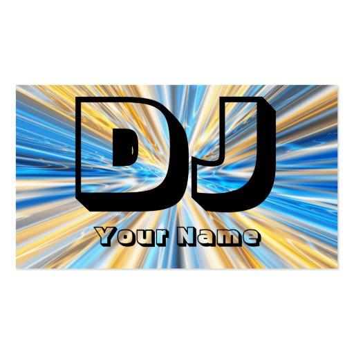 Dj business card templates zazzle for Dj business card templates free