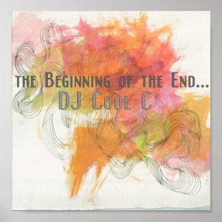 DJ C fresca que comienza el poster del EP