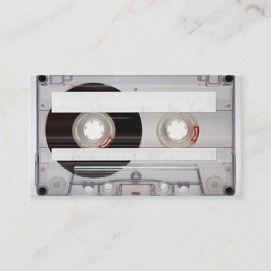 Dj cassette tape business card template zazzle dj cassette tape business card template cheaphphosting Choice Image