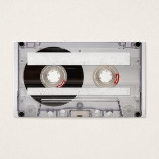 DJ Cassette Tape Business Card Template