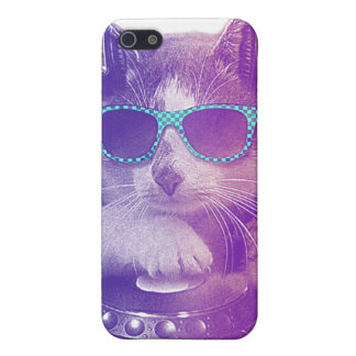 DJ cat Iphone 4 case