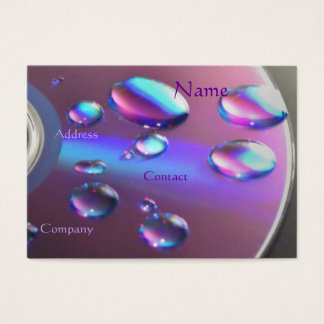 DJ CD Business Card - Customizable