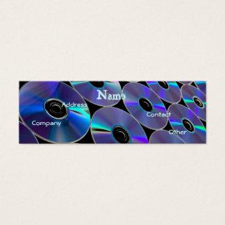 DJ CDs Mini Business Card