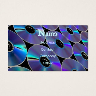 DJ CDs Profile Card - Customizable