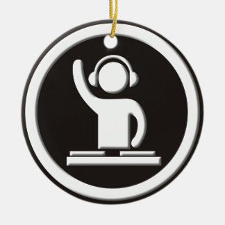 DJ CERAMIC ORNAMENT