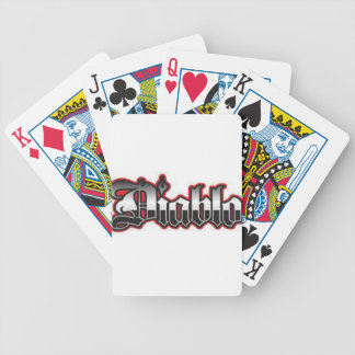 DJ CHRIS DIABLO - DIABLO 4 BICYCLE PLAYING CARDS