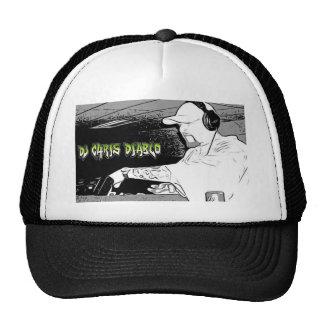 DJ CHRIS DIABLO - LOGOTIPO 4 DE DJ GORRAS