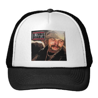 DJ CHRIS DIABLO - RASTA TRUCKER HAT